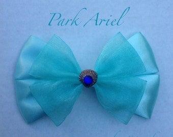the little mermaid hair bow