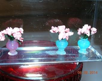 """Acrylic Turned Vase 1:48 Quarter Inch Scale  1/4"""""""