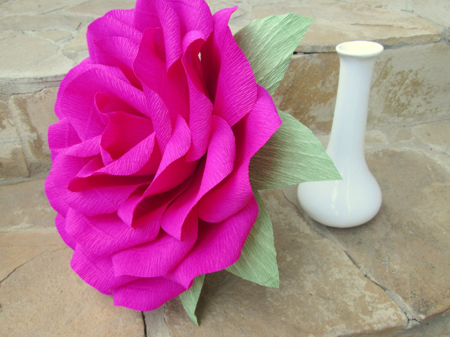 Giant Paper Flower/Giant Paper Rose/Wedding Decoration/