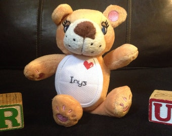 Personalized Stuffed Teddy Bear