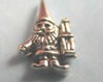Gnome - Silver HGC0283 Floating Charm for Glass Memory Locket