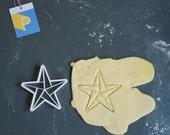 Origami star cookie cutte...