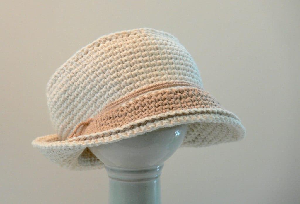 Crochet Newborn Bucket Hat Pattern : Crochet Pattern Mens Hat Bucket Hat Sun Hat by ...