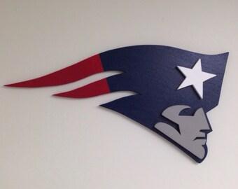 Patriots 3D Wooden Logo