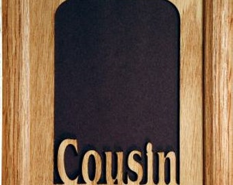 cousin picture frame 5x7