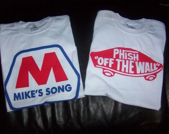 Phish shirt Mike's Song vans X Large