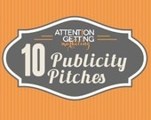 10 Etsy Publicity Pitches Customized for Your Products and Etsy Shop (Includes Media Contacts)