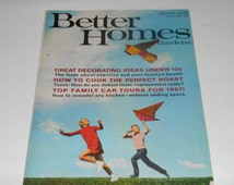 Vintage Better Homes And Gardens Magazine March 1967