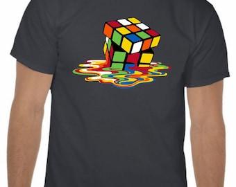 Melting Puzzle Cube