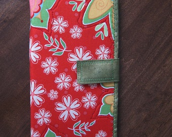 STORE CLEARANCE 30% off Handmade Fabric Wallet, Clutch, Artistic, Credit Card Holder, Change Purse