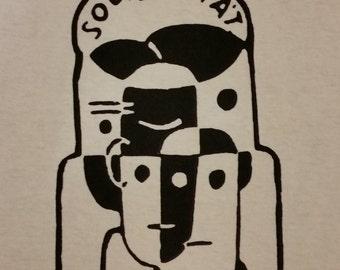 Solidarität (solidarity) t-shirt