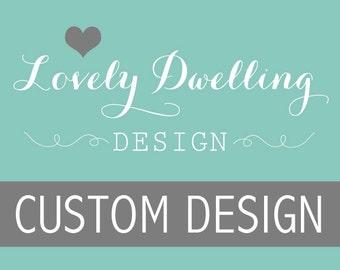 Custom Design Request // Graphic Art Print // Wall Art // 16x20, 18x24 or 24x36
