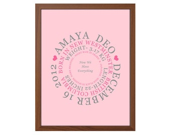 keepsake gift for new baby baby name meaning baby shower gift