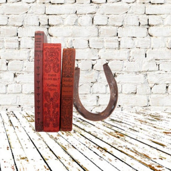 Vintage Book Bundle in Dark Reds with Beautiful Decorative Spines