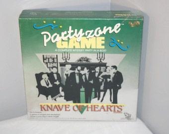 1940's Themed Dinner Party Game, Party Zone Knave of Hearts, Role Play