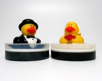 Wedding Rubber Duck Soap Set