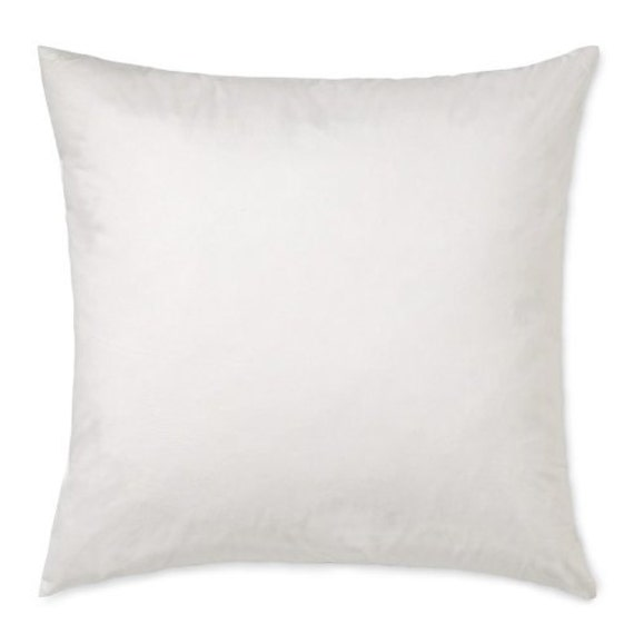 20 quot x 20 quot square poly pillow insert pillow form polyester fiberfill