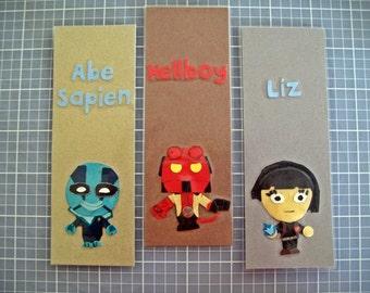 Hellboy Bookmarks