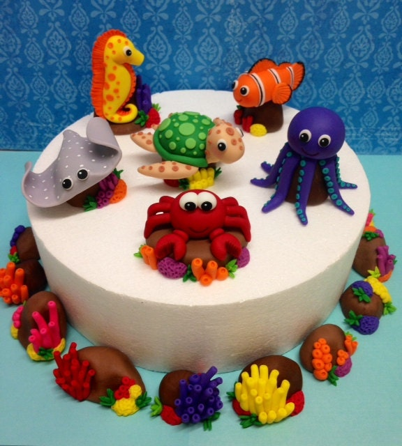 D Octopus Cakes