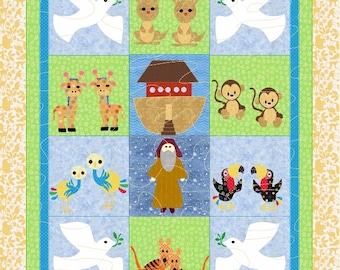 Baby Quilt Pattern   Two by Two