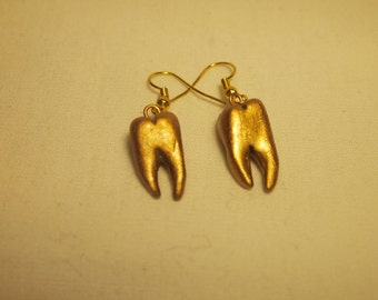Gold Tooth Earrings