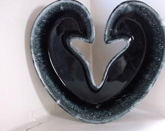 Vintage Hull Bowl or Planter - Heart Shaped