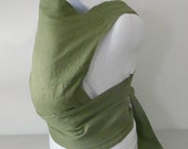 Linen Baby Carrier, Soft Structured Mei Tai, Padded Waist Baby Carriers, Green Baby Accessories,Baby Slings and Wraps,Babywearing, Baby Tote