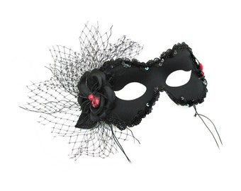 Caught Women's Scary Mask - A-1139-E