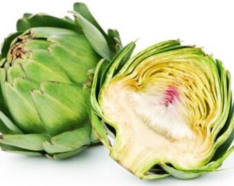 Artichoke vertu, 25, aginara seeds,gardening, heirloom, non gmo seeds, vegetable seeds