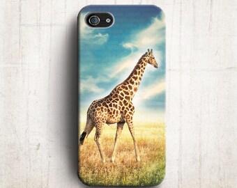 Giraffe iPhone 6 case , Sky iPhone 5s ,Modern iPhone 4s cover , plastic iPhone case