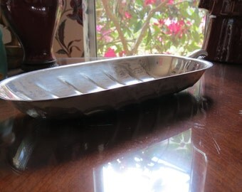 Leaf Bread Dish International Silver 8196