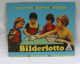 1984 - SPIKA images Lotto Art Nr. 63390 Ag 742 63 84 III 29 1. Vintage children's game from the former GDR