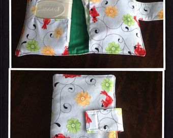 Diaper /Wipes Holder, Diaper Clutch