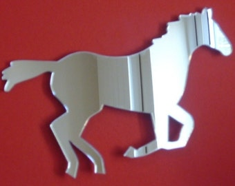 Trotting Horse Mirror - 5 Sizes Available