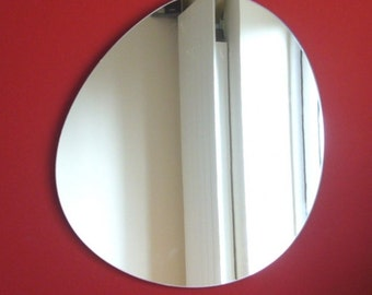 Round Pebble Shaped Mirror - 3 Sizes Available