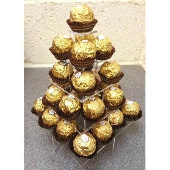 Stand de mariage party ferrero rocher de chocolat de - Rocher dessin ...