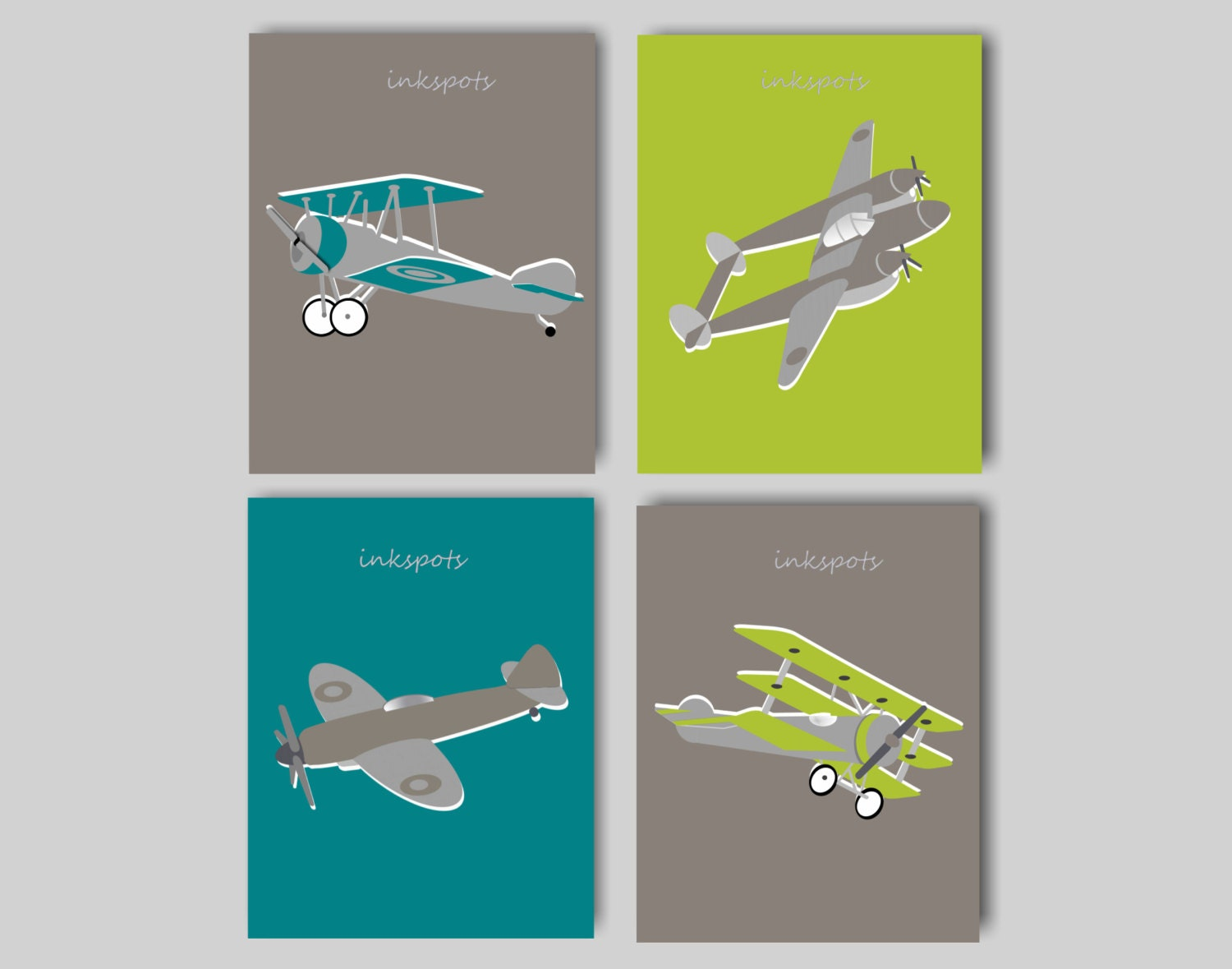 Vintage airplane nursery bedding decor airplane by Vintage airplane decor for nursery