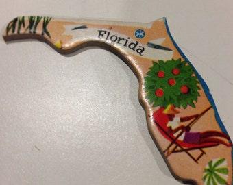 Florida magnet, Florida state magnet, magnet, Florida
