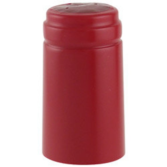 Home Wine Making Holiday Red Thermoseal Heat Shrink Decorative Hoods For Wine Bottles