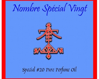 Special #20  Perfume Oil