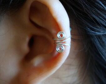 36)Spiral Ear Cuff