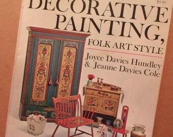 Decorative Painting Folk Art Style-Joyce Davies Huntley