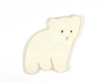Patch bear polar bear Ansgar 10 x 7cm