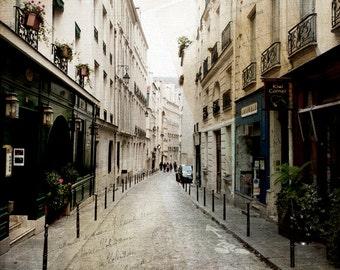 Paris Photography, Paris Art, Latin Quarter Paris Photo,Photography, French Architecture Photo, French Postcard Paris Photography, Wall Art