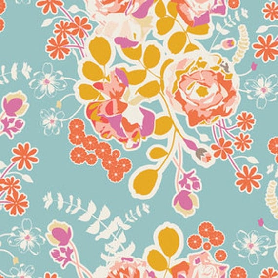 QUICK SHIP - Fitted Baby Sheet - Crib Sheet / Bedding / Floral Bedding / Orchard Blossom  / Baby  Bedding
