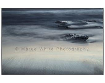 Ocean moods, Landscape photography, Sea, Fine Art print, Ready to frame, Rocks,