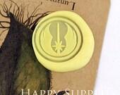 1pcs Star Wars Jedi Gold Plated Wax Seal Stamp (WS237)