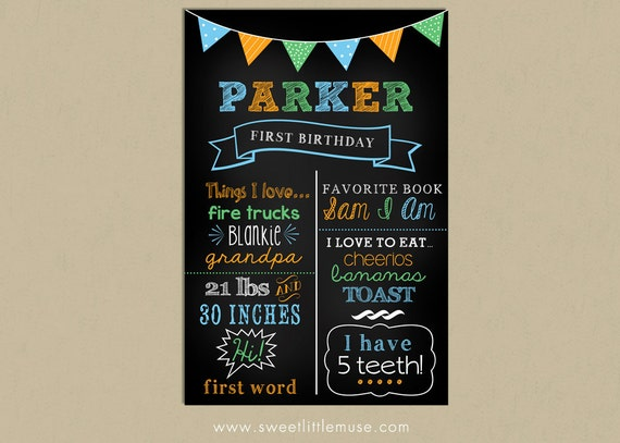 First birthday chalkboard template chalkboard birthday sign birthday chalkboard template for 1st birthday chalkboard sign template free
