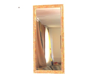 Narrow Wall Mirror 8.75 h wall mirror gold mirror narrow mirror