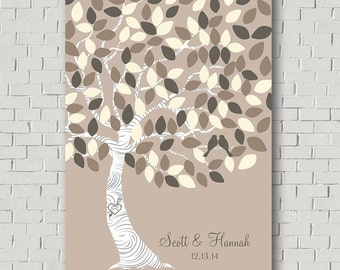Wedding Tree Guest Book Tree,Wedding Guest Book Alternative, Guest Book Signature, Wedding Keepsake Guest Book Print, Wedding Gift for Bride